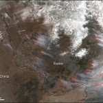 Incendios en el oriente ruso