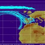 Cartografía de aerosoles en la atmósfera