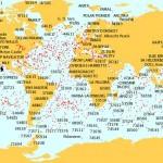 Cartografía de tráfico marítimo