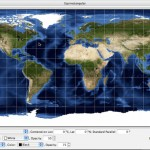 Global Map Projector