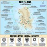 Mapas de la isla de 'Perdidos'