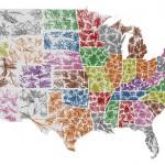 Jugando con códigos postales y mapas