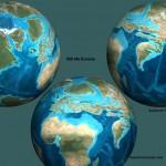 Representaciones del ciclo supercontinental