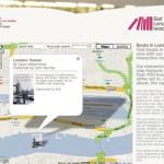 Mapa del Londres literario