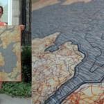 Edredones cartográficos