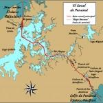 Cruzando el Canal de Panamá (Timelapse)