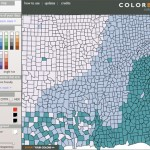 ColorBrewer2, el color de los mapas