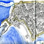 Mapa dibujado de Madrid
