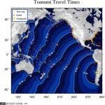 Tsunami en el Pacífico (cartografía de emergencia)