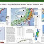 Panel informativo sobre el terremoto de Japón (11-03-2011)