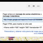 Cómo exportar un mapa de Google Maps a KML, después del rediseño de Google