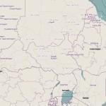 Sudán del Sur y los mapas online