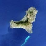 Imagen de alta resolución de la erupción en la isla de El Hierro