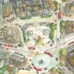 Los mapas ilustrados de Abi Daker