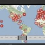 Todos los conflictos humanos en un solo mapa