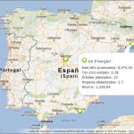 """Mapa """"Quiero mi Energía"""", del proyecto Huellasolar"""