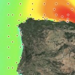 Cartografía de oleaje de los Puertos del Estado