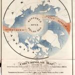 Los curiosos mapas de Silas Bent y el cálido mar del Polo Norte