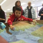 De caja de arena a mesa topográfica interactiva