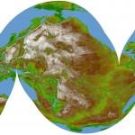 El mundo con topografía invertida