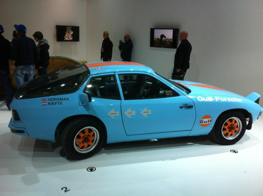Porsche 924 al revés